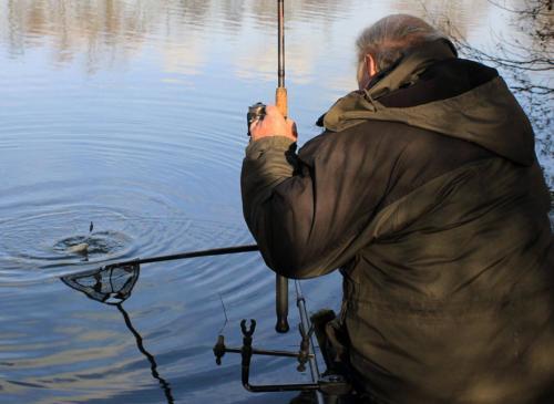 Bream fishing on East End Lake